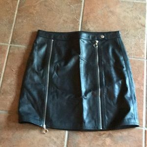 J Brand Super Soft Leather skirt size Small